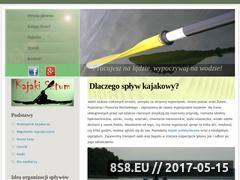 Miniaturka domeny kajaki-sztum.pl