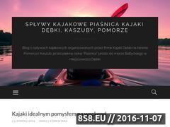 Miniaturka domeny kajakipiasnica.wordpress.com