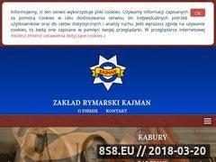 Miniaturka domeny www.kajman.com.pl