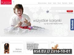 Miniaturka domeny www.kajzar.pl
