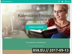 Miniaturka domeny kalendarzefirmowe24.pl