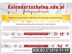 Miniaturka domeny www.kalendarzszkolny.edu.pl