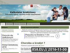 Miniaturka domeny www.kalkulator-kredytowy.edu.pl