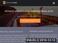 Miniaturka domeny kalkulator-ocac.pl