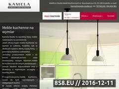 Miniaturka www.kamela-studio.pl (Meble na wymiar)
