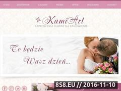 Miniaturka domeny www.kamiart.pl