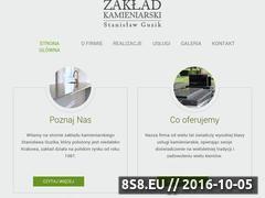 Miniaturka domeny www.kamieniarzguzik.pl