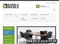 Miniaturka domeny www.kamilameble.pl