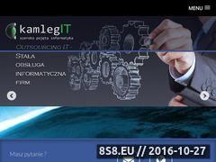 Miniaturka www.kamlegit.pl (KamlegIT - szeroko pojęta informatyka)