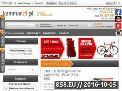 Miniaturka domeny www.kammar24.pl