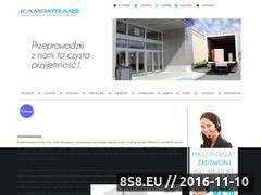 Miniaturka domeny www.kampatrans.pl