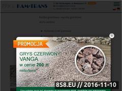 Miniaturka domeny www.kamtrans.com.pl