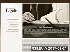 Miniaturka domeny www.kancelaria-legalis.pl