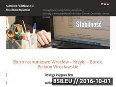 Miniaturka domeny www.kancelaria-lopuszniak.pl