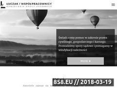 Miniaturka domeny kancelaria-luczak.pl