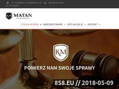 Miniaturka domeny kancelaria-matan.com