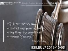 Miniaturka domeny www.kancelaria-mrozek.pl