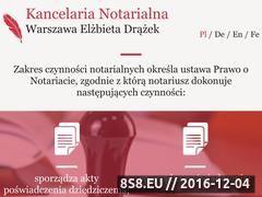 Miniaturka domeny www.kancelaria-notarialna.net.pl