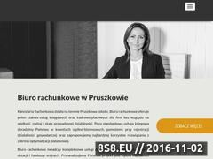 Miniaturka Biuro rachunkowe oraz księgowa Pruszków (kancelaria-ostrowska.com)