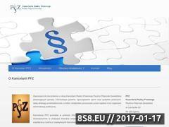 Miniaturka domeny www.kancelaria-pfz.pl