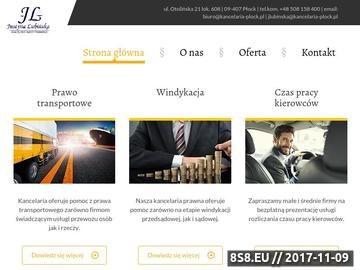 Zrzut strony Radcy prawni Płock
