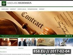 Miniaturka domeny kancelaria-roczkowski.pl