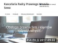 Miniaturka domeny kancelaria-sowa.pl