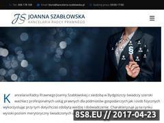 Miniaturka kancelaria-szablowska.pl (Usługi prawne, windykacja i odszkodowania)