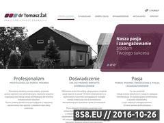 Miniaturka domeny www.kancelaria-zal.pl