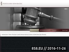 Miniaturka domeny www.kancelariapaszko.pl
