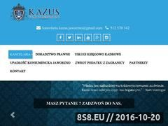 Miniaturka domeny kancelariapodatkowa-kazus.pl