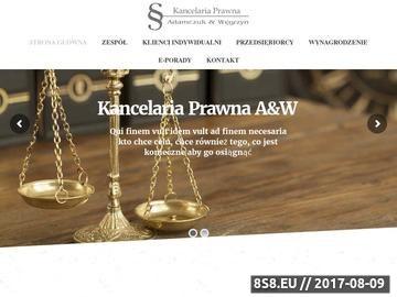 Zrzut strony Prawnik Warszawa Bemowo, Ochota, Włochy, Wola