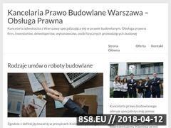Miniaturka kancelariaprawobudowlane.pl (Obsługa prawna - prawo budowlane)