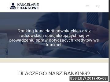 Zrzut strony Kancelarie adwokackie Warszawa