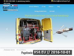 Miniaturka kanekspert.pl (Udrażnianie, czyszczenie i inspekcja kanalizacji)
