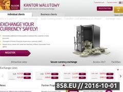 Miniaturka domeny kantor.aliorbank.pl