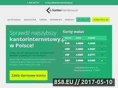 Miniaturka kantorinternetowy.pl (Wymiana walut)