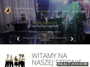 Zrzut strony Zespół na wesele FIORELLO Warszawa Lublin