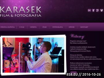 Zrzut strony Wideofilmowanie i fotografowanie imprez okolicznościowych