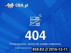 Miniaturka domeny www.karcher-czyszczenie.cba.pl