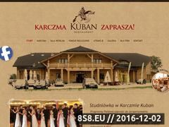 Miniaturka domeny karczmakuban.pl