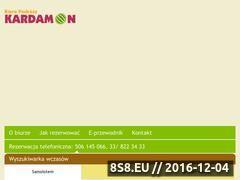 Miniaturka domeny kardamontravel.pl