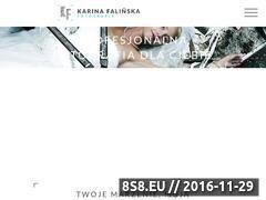 Miniaturka domeny www.karinafalinska.com