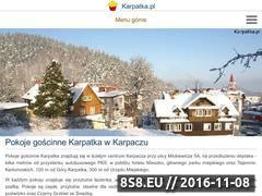 Miniaturka domeny www.karpatka.pl