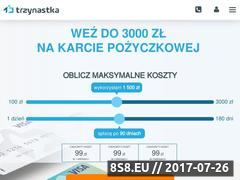 Miniaturka www.kartatrzynastka.pl (Pożyczki oraz chwilówki online bez zaświadczeń)