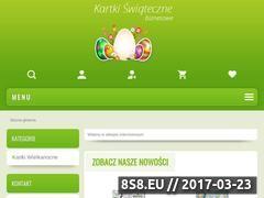 Miniaturka domeny www.kartkiswiateczne.biz.pl