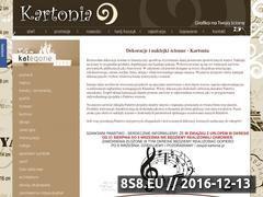 Miniaturka domeny www.kartonia.pl