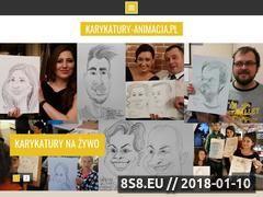 Miniaturka karykatury-animacja.pl (Rysunki satyryczne, karykatury i filmy animowane)
