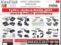 Miniaturka kasfisk.com (Kasy fiskalne, terminale płatnicze, drukarki oraz rolki)