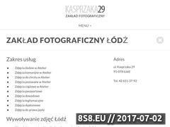 Miniaturka domeny kasprzaka29.pl